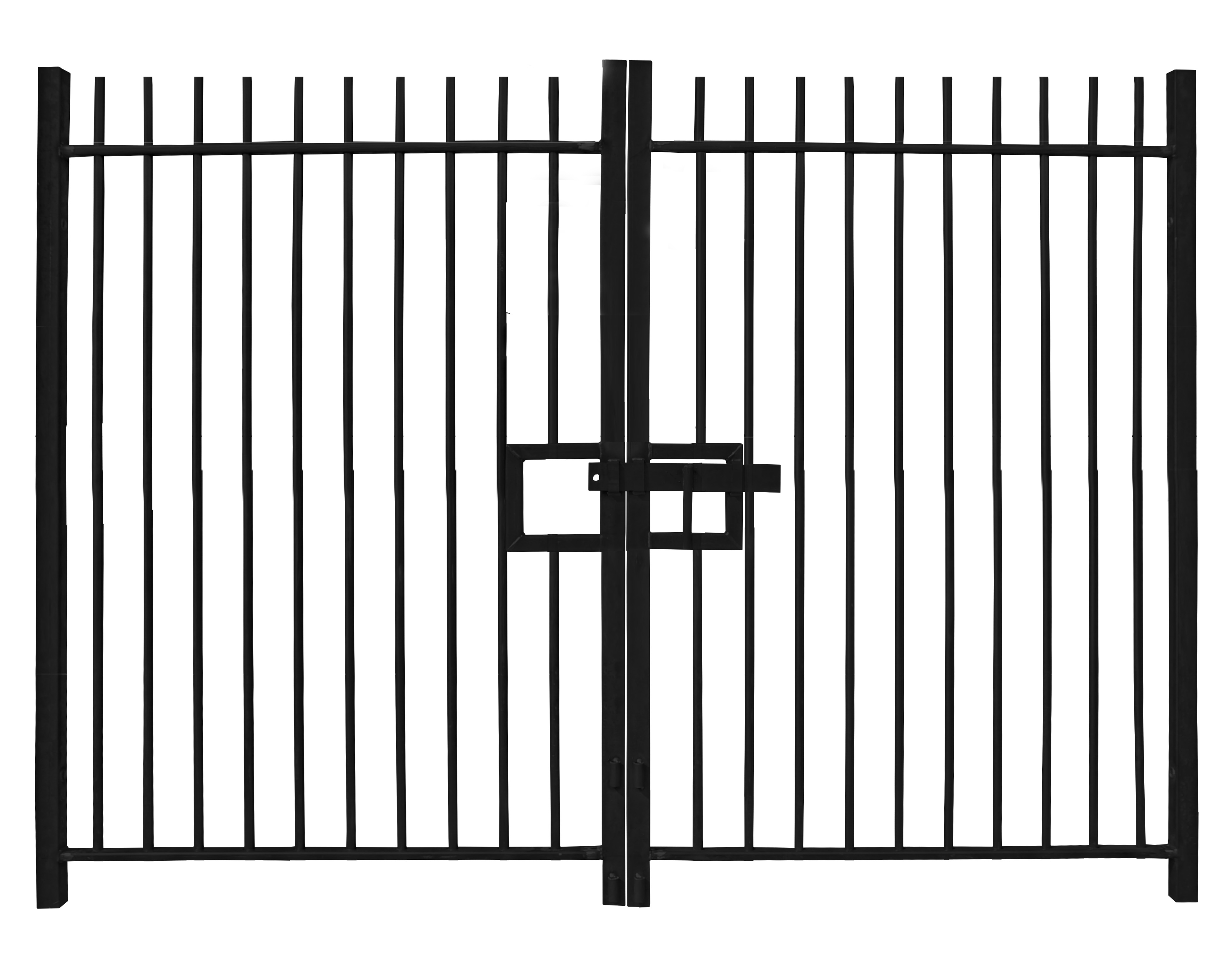 Standard Vertical Bar Gates