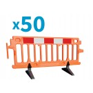 Pallet of 50 Avalon 2m Barriers