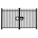 1.5m high Double Leaf Standard Vertical Bar Railing Gate