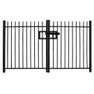 1.2m high Double Leaf Standard Vertical Bar Railing Gate