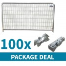 Round Top Temporary Fencing Package Deal