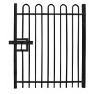 Bow Top Single Leaf Gate