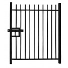 2.4m high Single Leaf Standard Vertical Bar Railing Gate