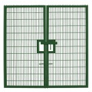 Small Twin Mesh Double Leaf Gate Green