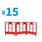 WorkGate Barrier 3 Way - Pallet of 15