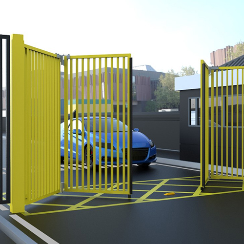 Bi-fold Gates - Available with Palisade, Mesh and Railing Infills!